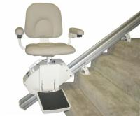 AmeriGlide Rave Stair Lift - Factory Reconditioned with Folding Rail